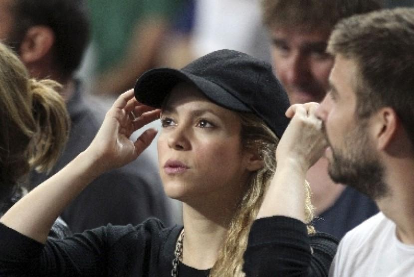 Penyanyi Shakira dan Gerard Pique.