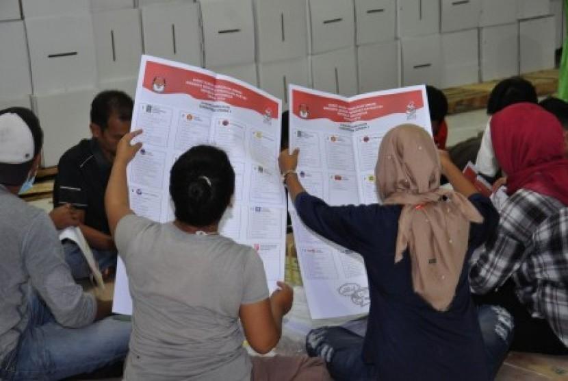 Penyelenggaraan pemilu di Kota Medan, Sumatra Utara. (Ilustrasi)