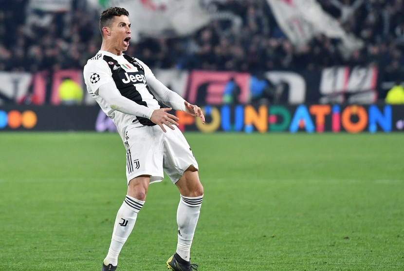 Penyerang Juventus, Cristiano Ronaldo