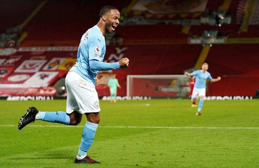 Pep Guardiola Bangga City Patahkan Keangkeran Anfield
