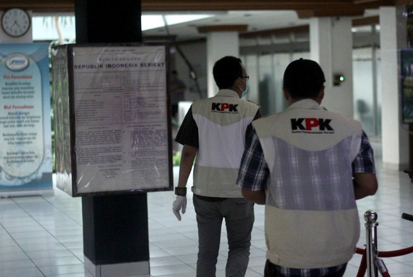 Penyidik Komisi Pemberantasan Korupsi (KPK).  (ilustrasi)