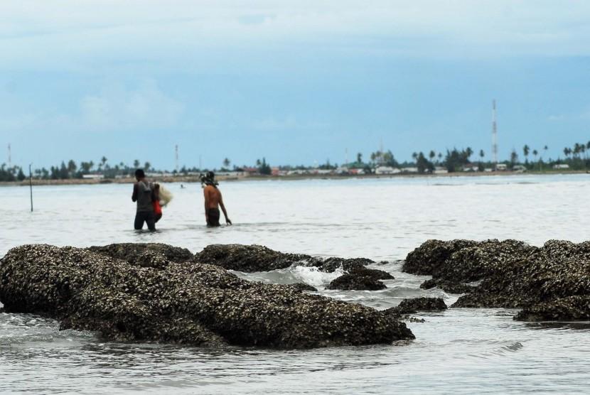 Perairan Pulau Ujung Pancu, Kabupatan Aceh Besar, Provinsi Aceh.