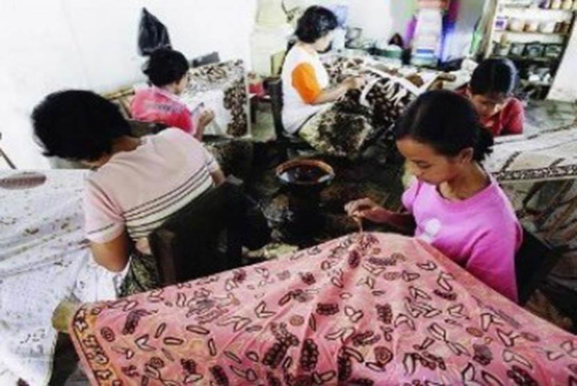 Perajin batik tulis Cirebon