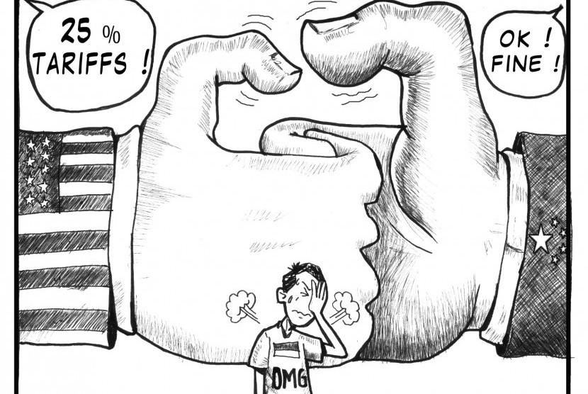 Perang dagang AS vs Indonesia