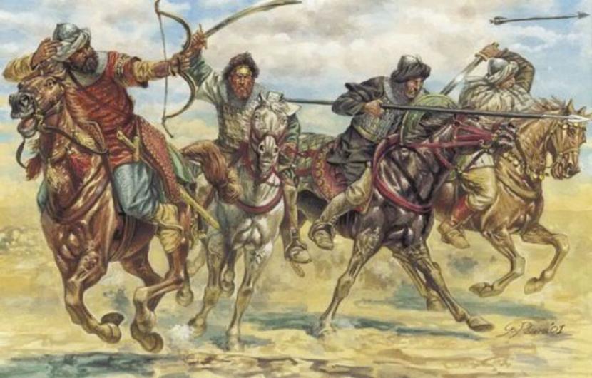 Janissari, Inti dari Garis Pertempuran Ottoman. Perang masa Seljuk dan Ottoman