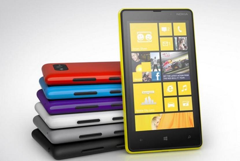 Perangkat berbasis Windows Phone. Ilustrasi.