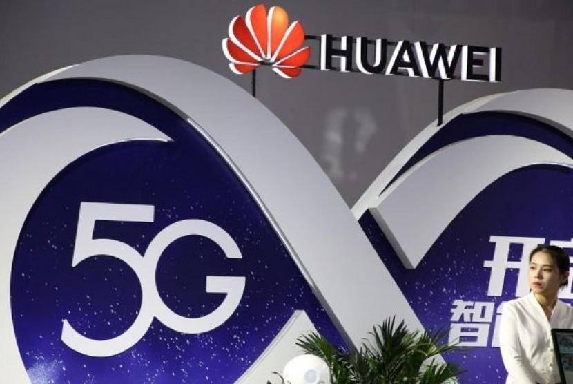 Perangkat Huawei untuk jaringan 5G.