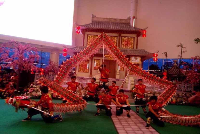 Perayaan Imlek di Summarecon Mal Bekasi.
