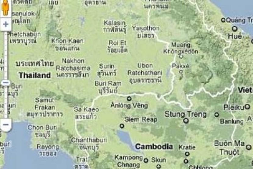 Perbatasan Kamboja-Thailand