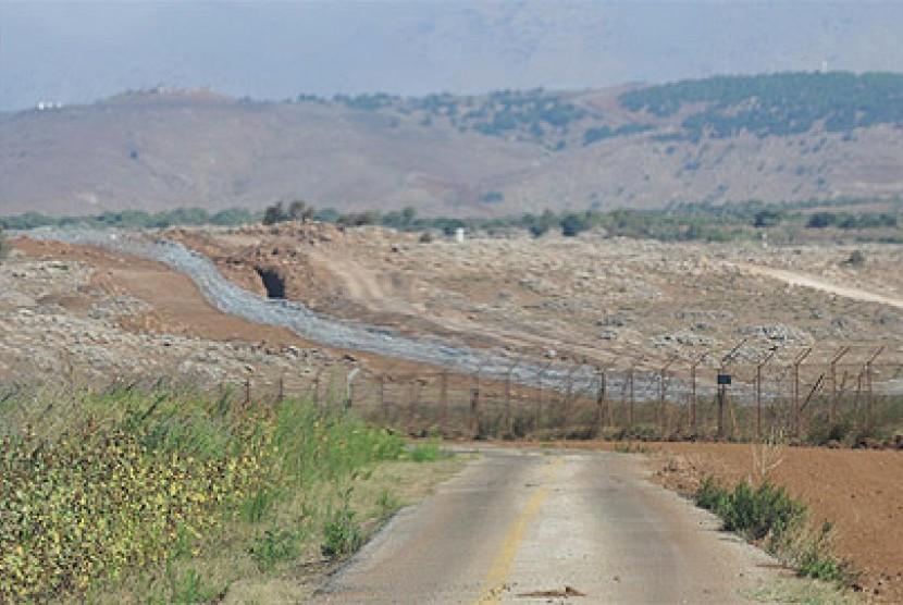 Perbatasan Suriah-Israel