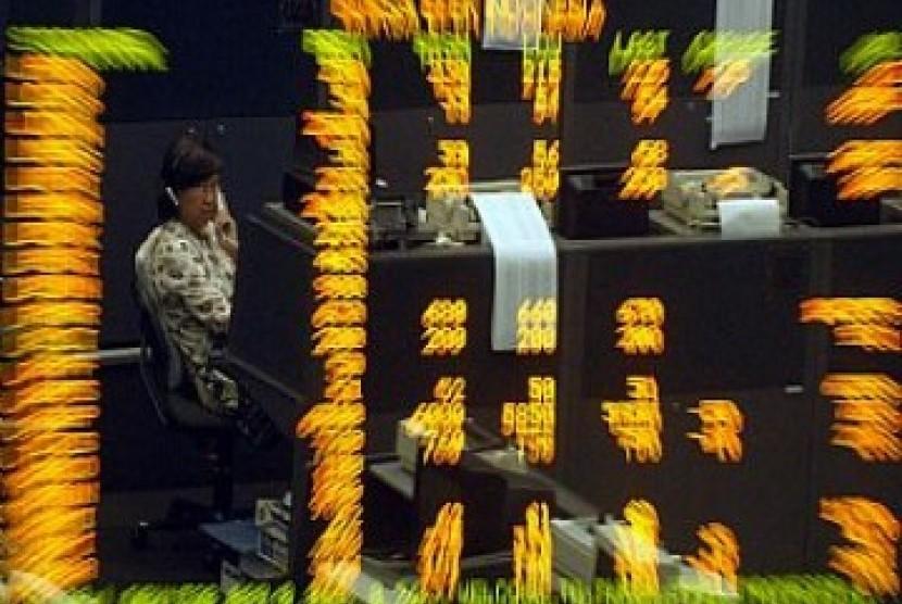 Perdagangan saham di Bursa Efek Indonesia, ilustrasi