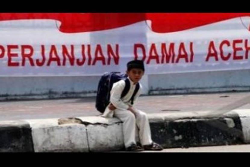 Perdamaian di Aceh (Ilustrasi)