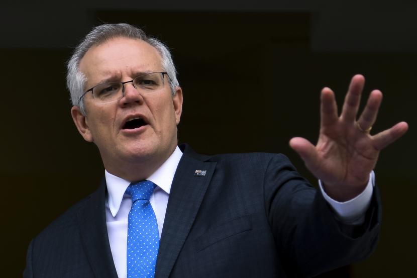 Perdana Menteri Australia Scott Morrison,