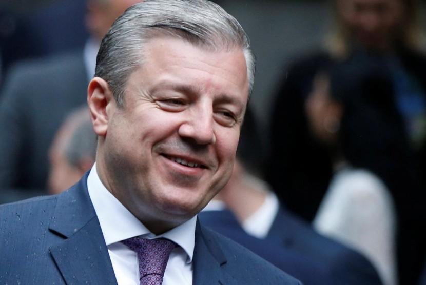 Perdana Menteri Georgia, Giorgi Kvirikashvili mengundurkan pada Rabu (13/6).
