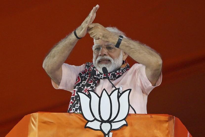 Perdana Menteri India Narendra Modi, 1 April 2019.