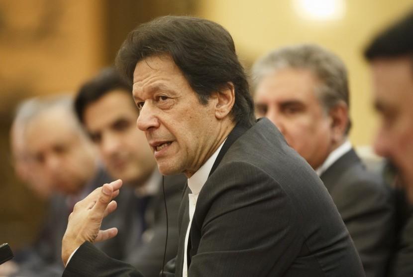 Perdana Menteri Pakistan, Imran Khan.