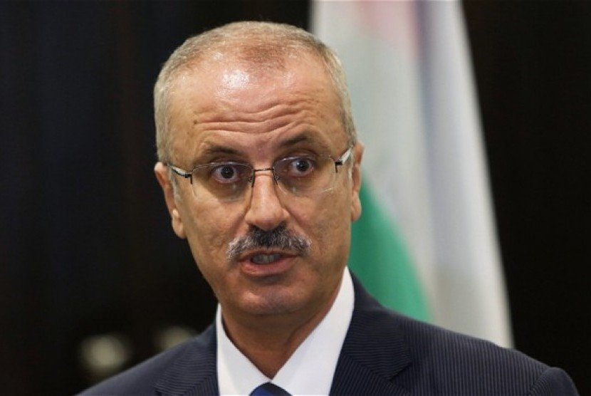 Perdana Menteri Palestina Rami Hamdallah.