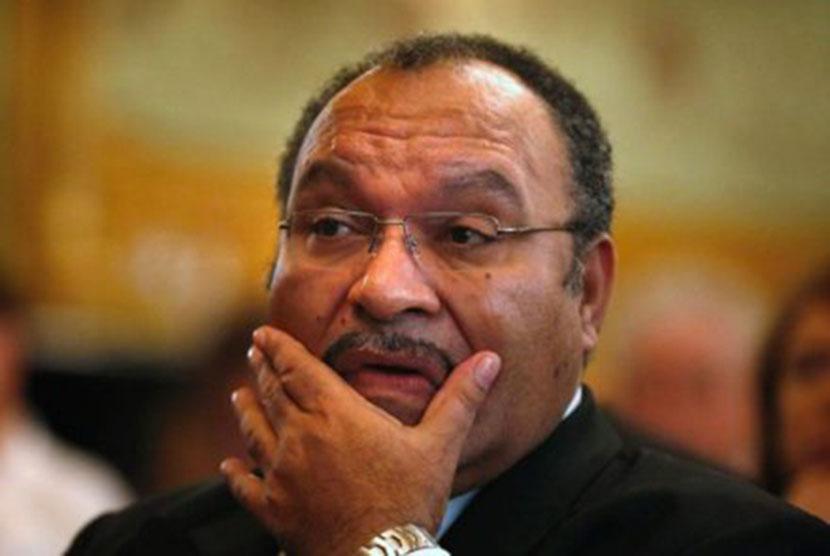 Perdana Menteri Papua Nugini Peter O'Neill