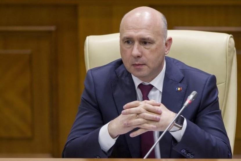 Perdana Menteri (PM) Moldova Pavel Filip