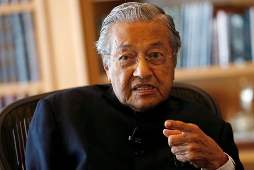 Perdana Menteri Tun Mahathir Mohamad.