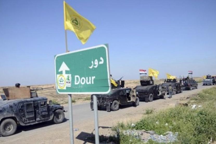 Perebutan kembali kota TIkrit dari tangan ISIS