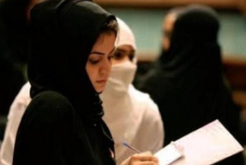 Perempuan Arab Saudi, ilustrasi
