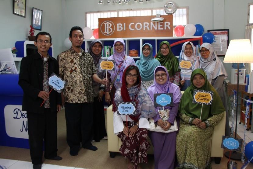 Peresmian BI Corner di SMAIT Nurul Fikri.