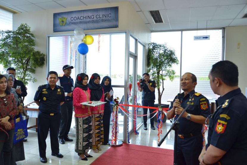 Peresmian Coaching Clinic oleh DJBC Banten.