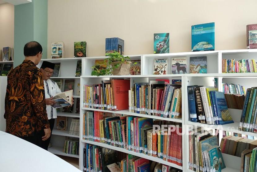 Peresmian pembukaan Perpustakaan Cinta Baca di Kota Bogor