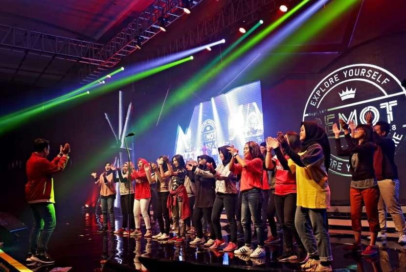 Performa UKM Paduan Suara UBSI di Semot  UBSI 2018.