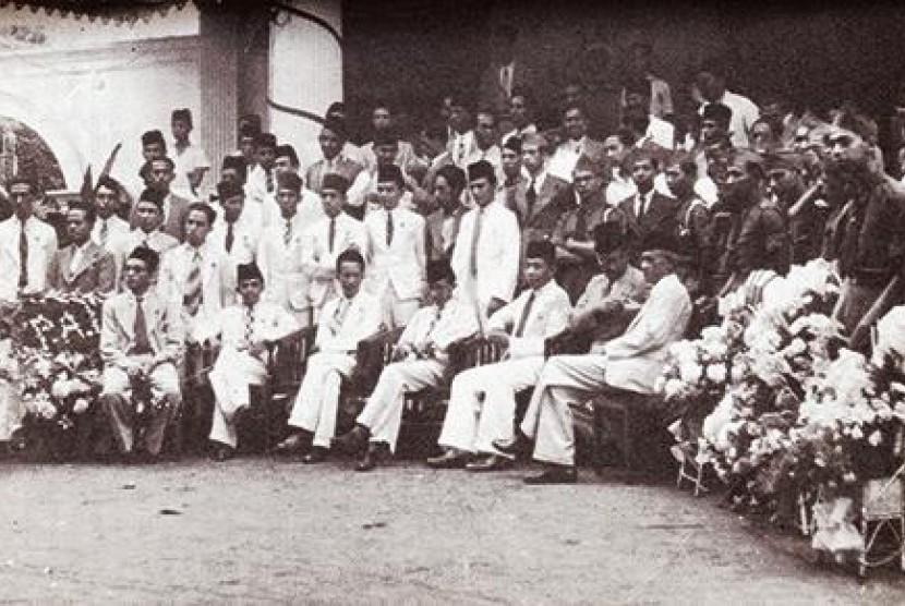 Peristiwa Sumpah Pemuda Keturuanan Arab pada tahun 1930-an.