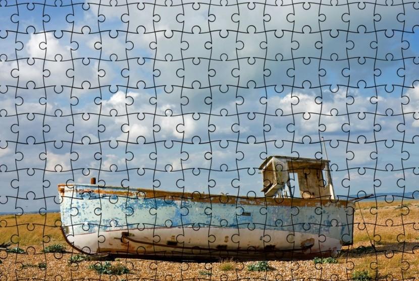 Permainan puzzle.