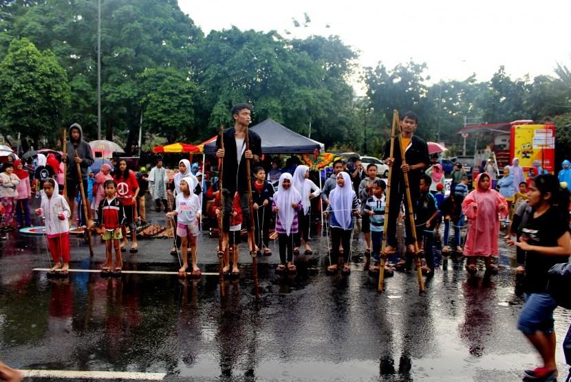 Yuk Kenali Permainan Tradisional Indonesia Di Cfd Jakarta Republika Online