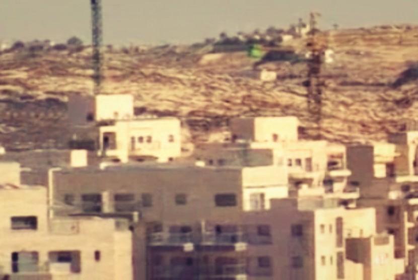 permukiman illegal di Yerusalem Timur dan Tepi Barat