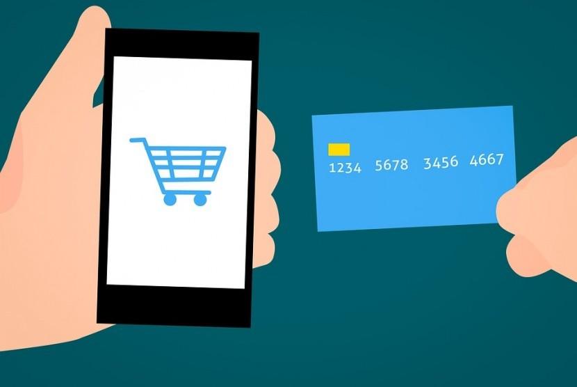 Perniagaan elektronik atau e-commerce.