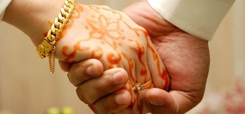 Pernikahan Muslim (Ilustrasi).