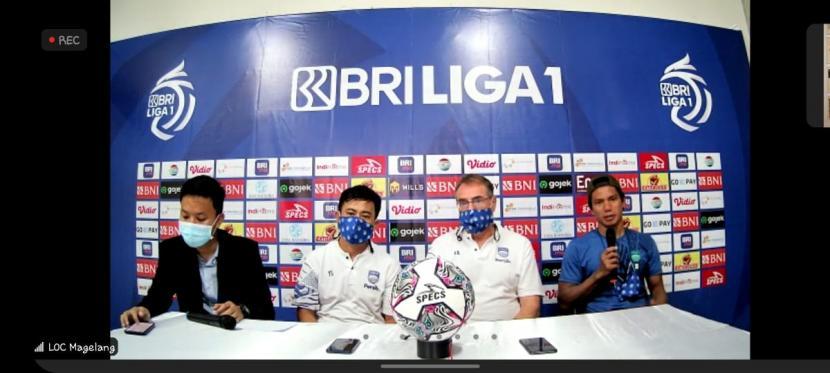 Pernyataan Persib usai laga kontra Bhayangkara FC, Sabtu (16/10).