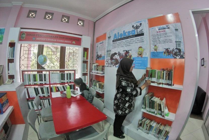 Perpustakaan Kota Yogyakarta.