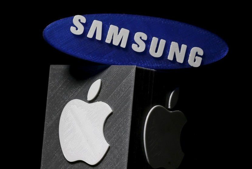 Perseteruan Samsung Apple.