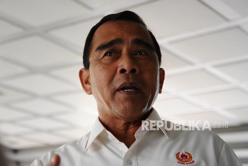 Ketua Umum Komite Olahraga Nasional Indonesia (KONI) Pusat Tono Suratman