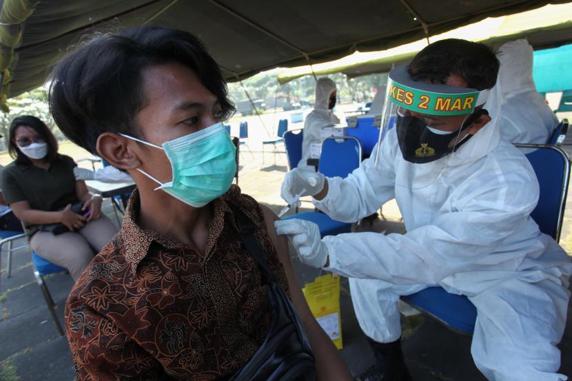 Cakupan Vaksinasi Kota Sukabumi Tertinggi Kedua di Jabar (ilustrasi).