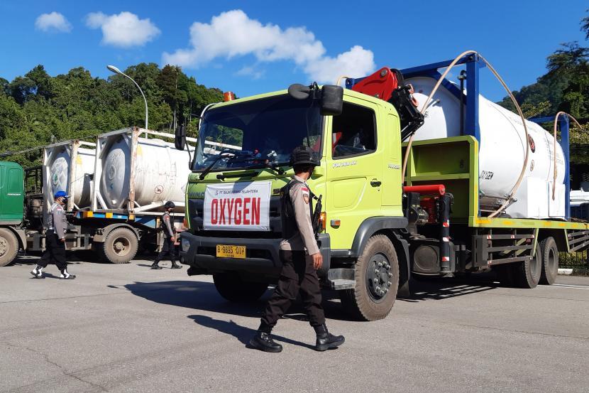 Awasi Distribusi Oksigen, Kemnaker Supervisi ISO Tank (ilustrasi).