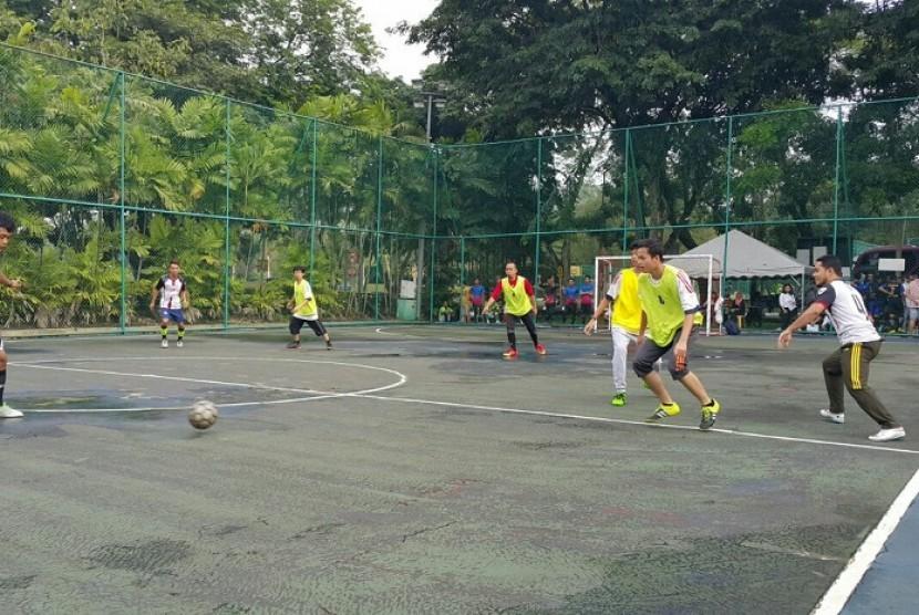 Pertandingan futsal yang digelar FORKOMMI Malaysia