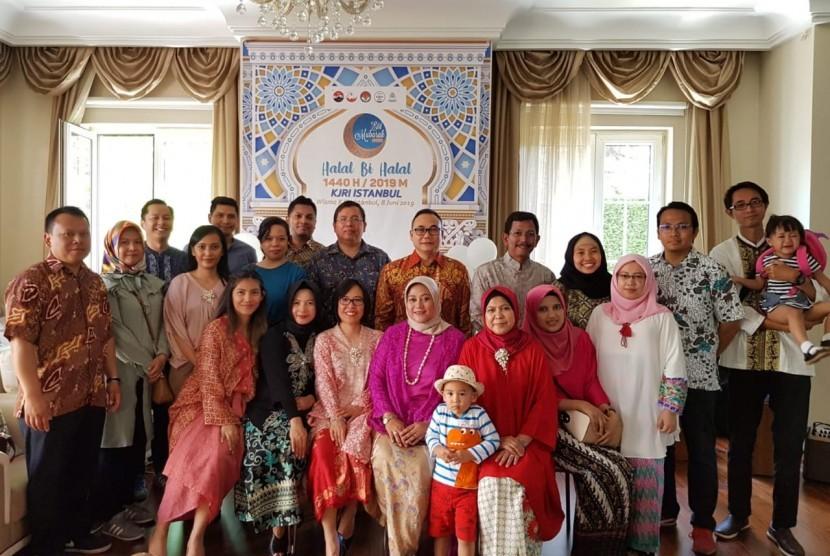 Pertemuan KJRI Istambul dan diaspora WNI
