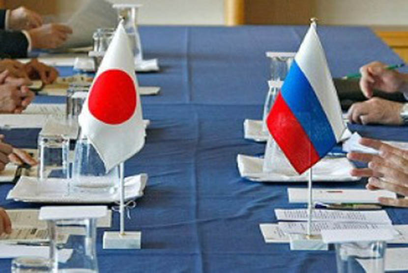 Perundingan Jepang-Rusia (ilustrasi)