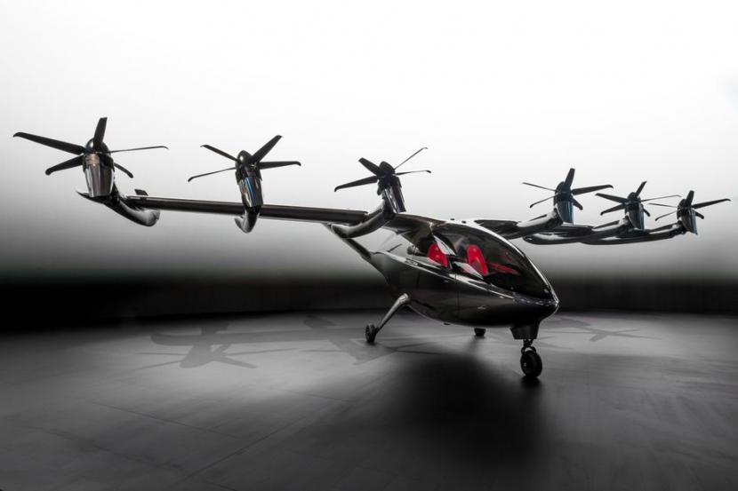 Perusahaan Archer Aviation meluncurkan taksi terbang listrik pertamanya Maker.
