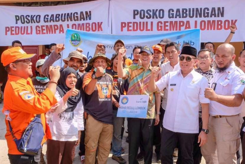 Bank BJB Serahkan Bantuan Gempa Lombok Rp 1,6 Miliar ...