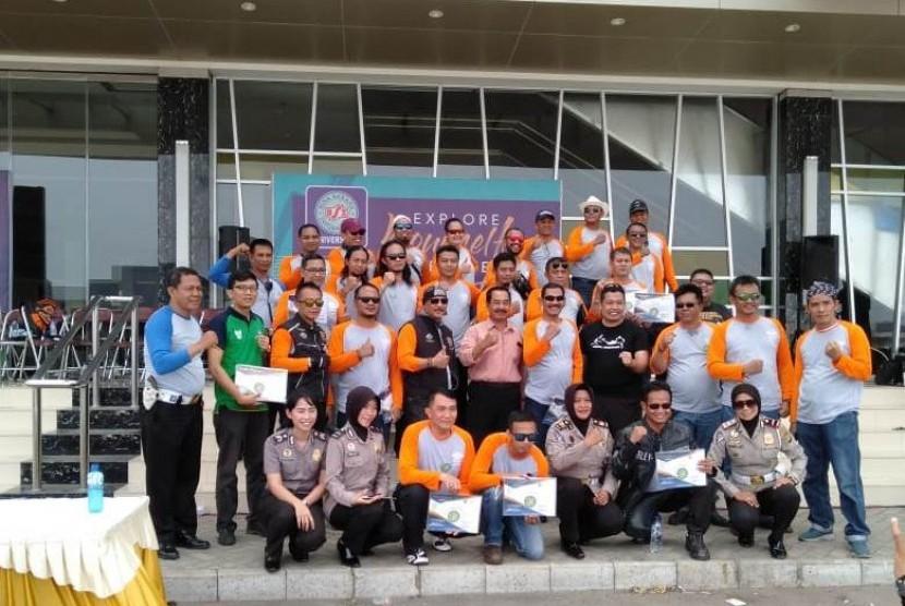 Perwakilan UBSI bersama jajaran Polresta Bekasi.