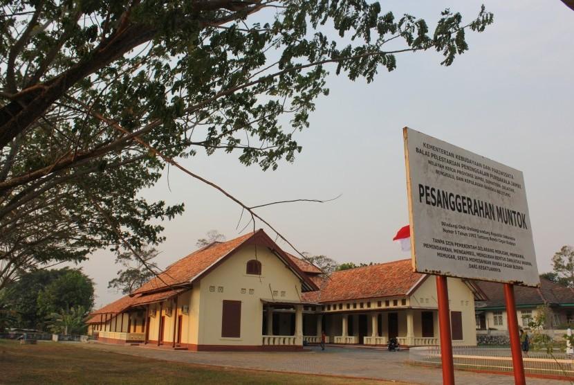 Pesanggrahan Muntok sebagai salah satu destinasi wisata bersejarah di Bangka Barat