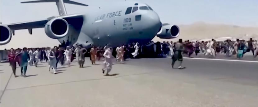 Pesawat AS di Afghanistan